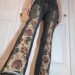 Tapestry vintage flared high waisted jeans 28 x 33